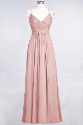 Elegant Princess Chiffon Spaghetti-Straps V-Neck Sleeveless Floor-Length Bridesmaid Dress with Ruffles_6