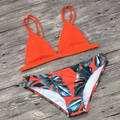 Ensembles de Bikini Imprimés Triangulaires_3