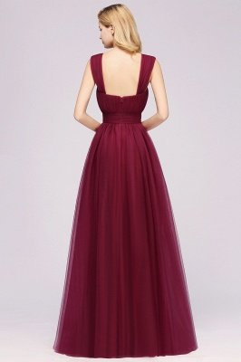 Chiffon Sweetheart Straps Sleeves Floor-Length Bridesmaid Dresses with Ruffles_36