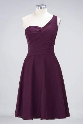 Elegant Princess Chiffon One-Shoulder Sweetheart Sleeveless Knee-Length Bridesmaid Dress with Ruffles_19
