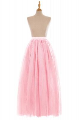 Glamorous A-line Floor-Length Skirt | Elastic Women's Skirts_3