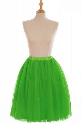 Nifty Short A-line Mini Skirts | Elastic Women's Skirts_18