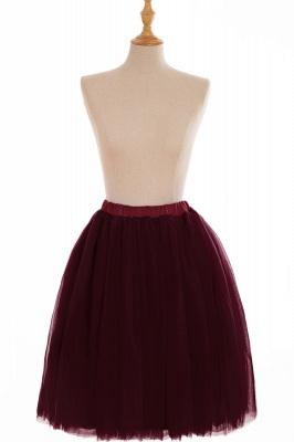 Nifty Short A-line Mini Skirts | Elastic Women's Skirts_7