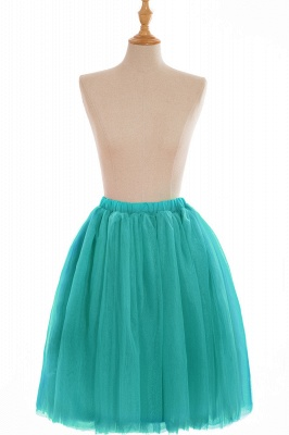 Nifty Short A-line Mini Skirts | Elastic Women's Skirts_17