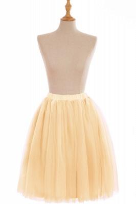 Nifty Short A-line Mini Skirts | Elastic Women's Skirts_8