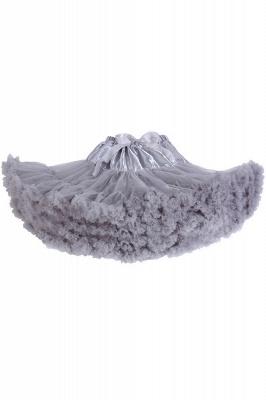 Merveilleuse jupe en tulle mini ligne | Jupes élastiques bowknot femmes_13