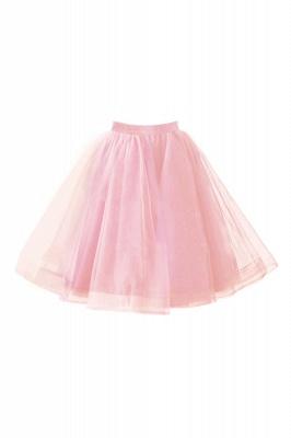 Alluring Tulle Short A-line Skirts | Elastic Women's Skirts_2