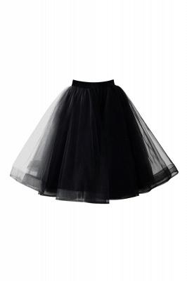 Alluring Tulle Short A-line Skirts | Elastic Women's Skirts_10