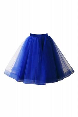 Alluring Tulle Short A-line Skirts | Elastic Women's Skirts_13