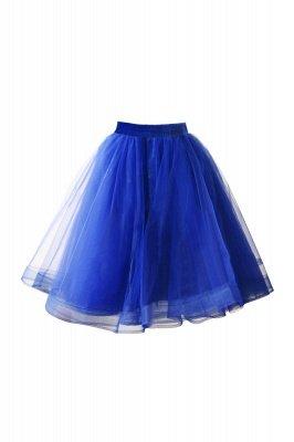 Alluring Tulle Short A-line Skirts | Elastic Women's Skirts_8
