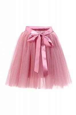 Amazing Tulle Short Mini Ball-Gown Skirts | Elastic Women's Skirts_2