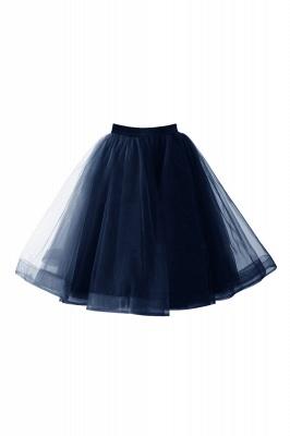 Alluring Tulle Short A-line Skirts | Elastic Women's Skirts_9