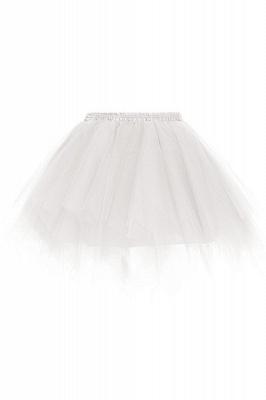 Jolies jupes courtes jupe en tulle | Jupes élastiques femmes