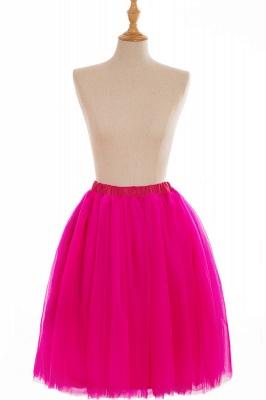 Nifty Short A-line Mini Skirts | Elastic Women's Skirts_6