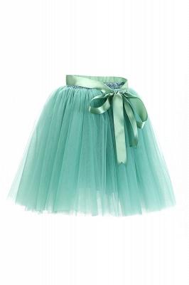 Amazing Tulle Short Mini Ball-Gown Skirts | Elastic Women's Skirts_15