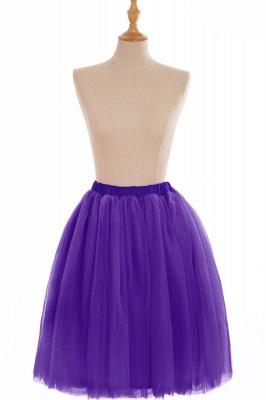 Nifty Short A-line Mini Skirts | Elastic Women's Skirts_12