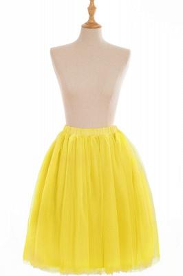 Nifty Short A-line Mini Skirts | Elastic Women's Skirts_11