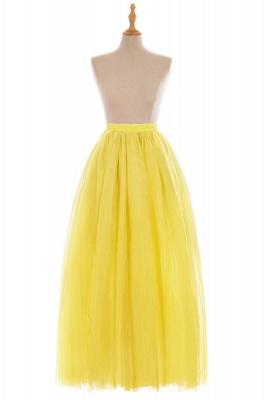 Glamorous A-line Floor-Length Skirt | Elastic Women's Skirts_10