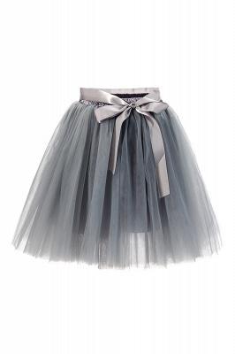 Amazing Tulle Short Mini Ball-Gown Skirts | Elastic Women's Skirts_14