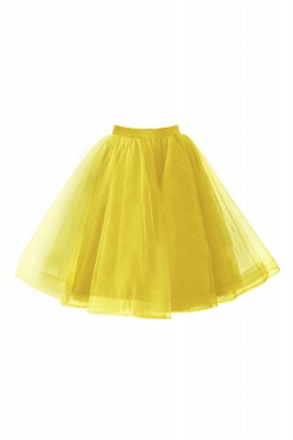 Alluring Tulle Short A-line Skirts | Elastic Women's Skirts_7