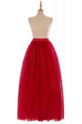Glamorous A-line-parole longueur jupe | Jupes élastiques femmes