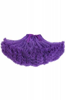 Merveilleuse jupe en tulle mini ligne | Jupes élastiques bowknot femmes_7