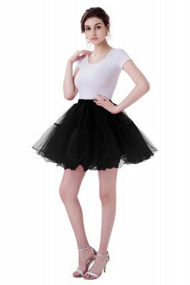 Brilliant Tulle Mini Short A-line Skirts | Elastic Women's Skirts_12