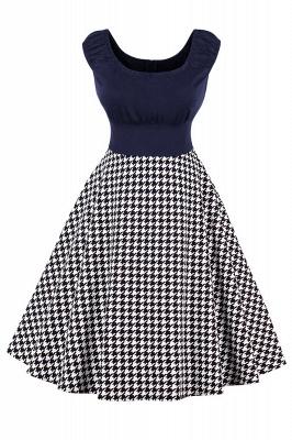 Wonderful Scoop Cap-Sleeves A-line Fashion Dresses   Knee-Length Women's Dresses