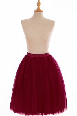 Nifty Short A-line Mini Skirts | Elastic Women's Skirts_4
