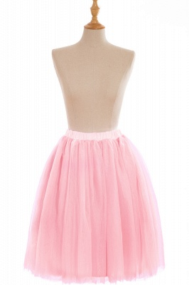 Nifty Short A-line Mini Skirts | Elastic Women's Skirts_3