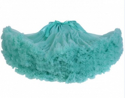 Merveilleuse jupe en tulle mini ligne | Jupes élastiques bowknot femmes_9