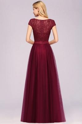 Chiffon Jewel Sleeveless Floor-Length Bridesmaid Dresses with Ruffles_2