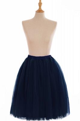 Nifty Short A-line Mini Skirts | Elastic Women's Skirts_14