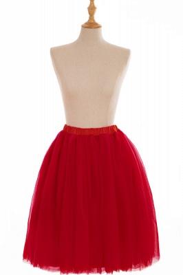 Nifty Short A-line Mini Skirts | Elastic Women's Skirts_5