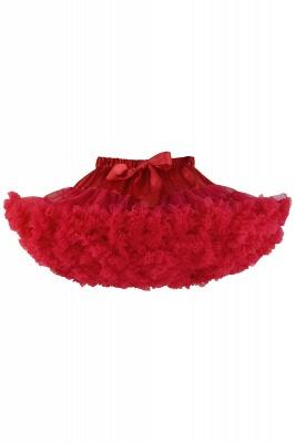Merveilleuse jupe en tulle mini ligne | Jupes élastiques bowknot femmes_4