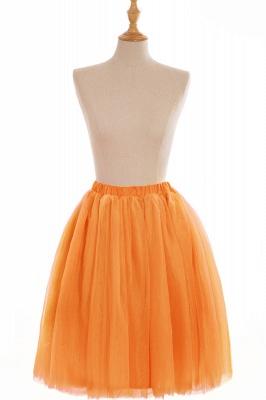Nifty Short A-line Mini Skirts | Elastic Women's Skirts_9