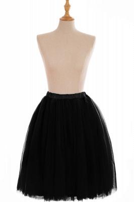 Nifty Short A-line Mini Skirts | Elastic Women's Skirts_15