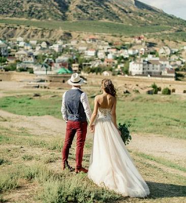 Appliques simples bustier chérie robe de mariée une ligne_4