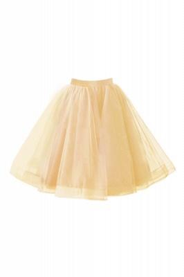 Alluring Tulle Short A-line Skirts | Elastic Women's Skirts_6