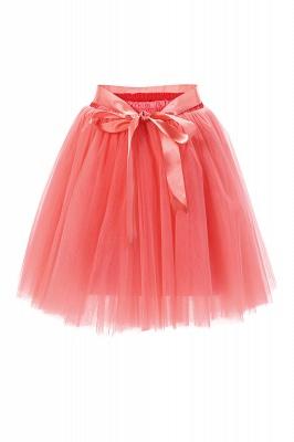 Amazing Tulle Short Mini Ball-Gown Skirts | Elastic Women's Skirts_3