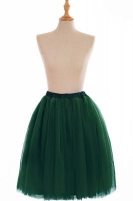 Nifty Short A-line Mini Skirts | Elastic Women's Skirts_16