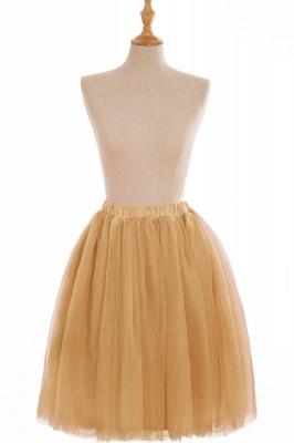 Nifty Short A-line Mini Skirts | Elastic Women's Skirts_10