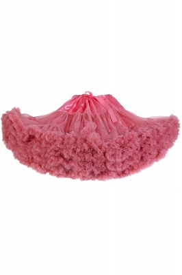 Merveilleuse jupe en tulle mini ligne | Jupes élastiques bowknot femmes_3