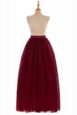 Glamorous A-line Floor-Length Skirt | Elastic Women's Skirts_6