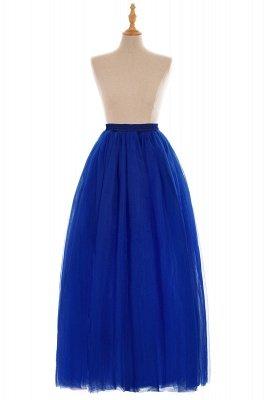 Glamorous A-line Floor-Length Skirt | Elastic Women's Skirts_13
