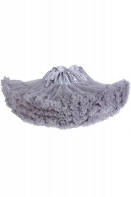 Marvelous Tulle Mini A-line Skirts   Elastic Bowknot Women's Skirts_13
