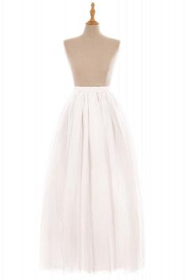 Glamorous A-line Floor-Length Skirt | Elastic Women's Skirts_1