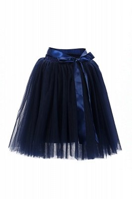 Amazing Tulle Short Mini Ball-Gown Skirts | Elastic Women's Skirts_12