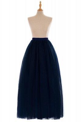 Glamorous A-line Floor-Length Skirt | Elastic Women's Skirts_14