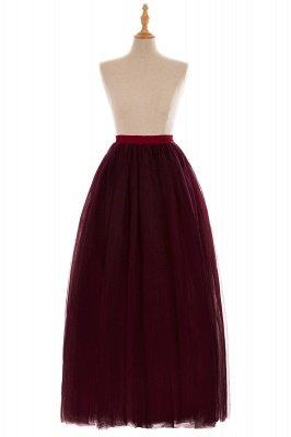 Glamorous A-line Floor-Length Skirt | Elastic Women's Skirts_18